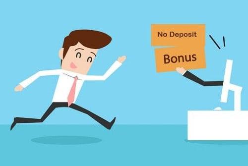 No deposit bonus - bonus zonder storting