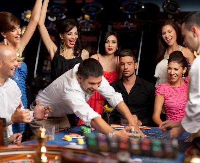 Casino thema feest