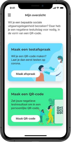 CoronaCheck-app
