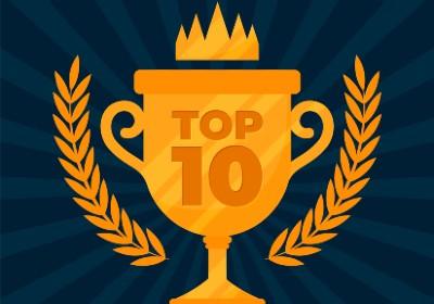 Top 10 lijsten